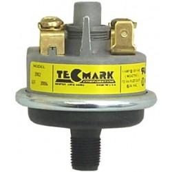 Interrupteur à pression TEC 1/8'' VM (GRIS/NOIR)