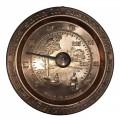 Thermomètre Pour Sauna En Cuivre Style Rond