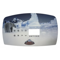 Autocollant Clavier Arctic 2007 (TSC-80)