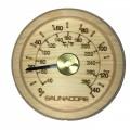 Thermomètre Pour Sauna En Bois Style Rond Petit